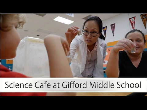 Science Cafe at Gifford Middle School