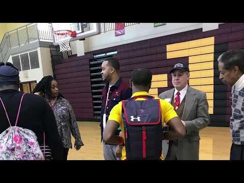 Cleveland Author Jameel Davis Speaks At John Adams High School (01/10/2018)