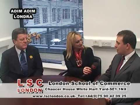 LSC LONDON School of Commerce ADIM ADIM LONDRA PROGRAMINDA