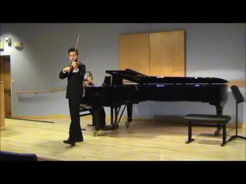Violin Concerto No. 4 in D major, K.218, Mozart (1st movt) - Jory Lane