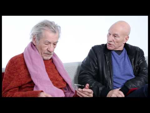 Besties Ian McKellen & Patrick Stewart on Envy,