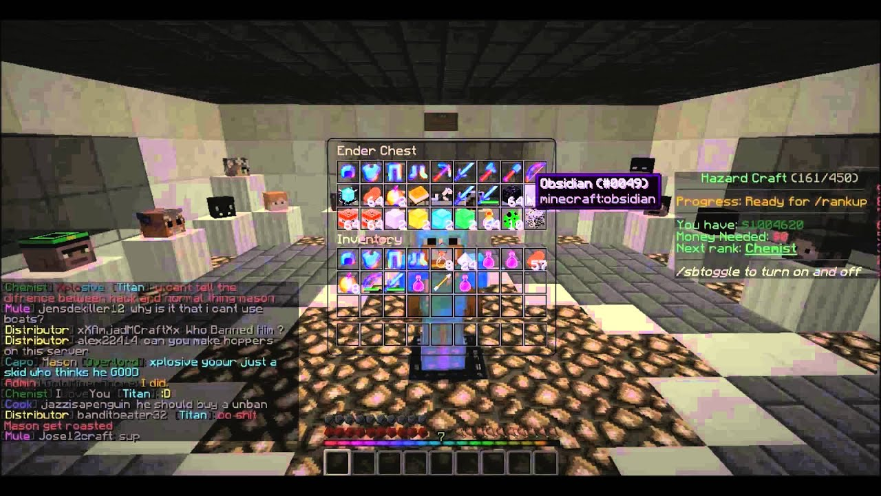 factions giveaway on hazard craft youtube