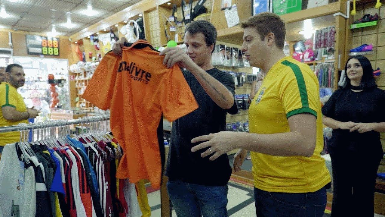 3647b9a748 Fábrica de bolas se torna loja esportiva de sucesso - YouTube