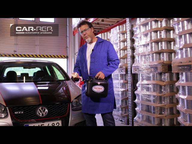 Car-Rep RUBBERShield - scratch and petrol resistant coating video