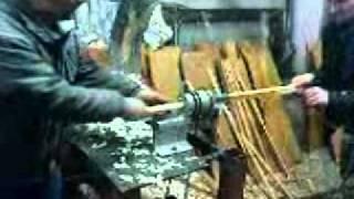 masina za proizvodnju drvenih stapova