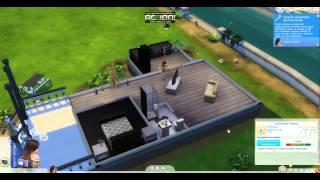 """The Sims 4 """"Życie Karoliny:)"""" odc. 2 - Wizyta u rodziny Spencer-Kim-Levis ;)"""