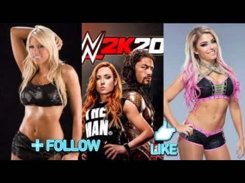 KELLY KELLY VS ALEXA BLISS WWE2K20