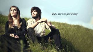 Angus & Julia Stone - Just a Boy lyrics