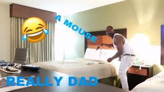FAKE MOUSE PRANK ON MY SON!