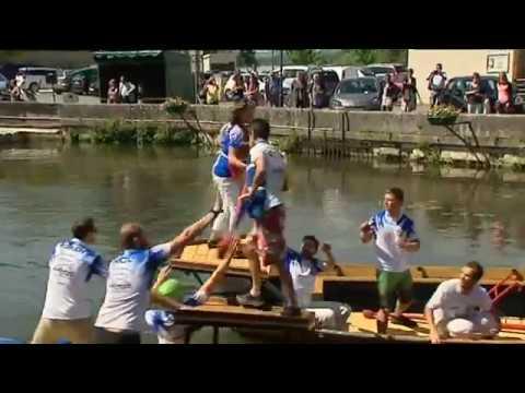 La Fête de la Loire et des gabarriers à Cosne-Cours-sur-Loire