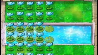 Plants Vs Zombies Snow Pea Madness