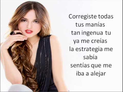Eiza Gonzalez - Te Acordaras De Mi (letra)