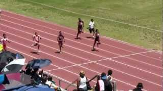 Mark Trail Flying Eagles - Justin Griffin, Nicholas Edwards, & Donovan Moncrief 100m