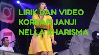 Lirik Nella Kharisma Korban Janji  Dan Video