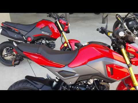 2017 Honda Grom W/ Yoshimura Exhaust Ctps Customs - YT