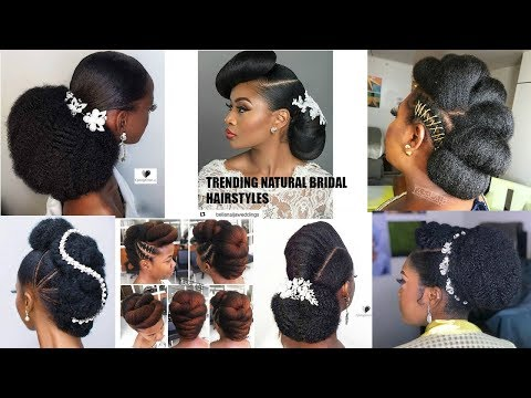 THESE NATURAL HAIR BRIDAL HAIRSTYLES ARE BEAUTIFUL 🥰😍| OGC
