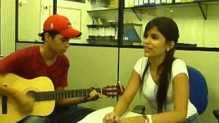 Flávia Souza e Serginho - La Solitudine [Laura Pausini Cover]