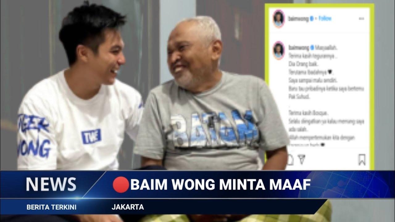 ALHAMDULILLAH ! AKHIRNYA Baim Wong Bertemu Dengan Kakek Suhud dan Minta MAAF..