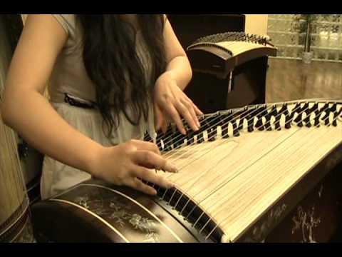 "古筝 ""几多愁"" (虞美人) Guzheng ""Much Sorrow"""
