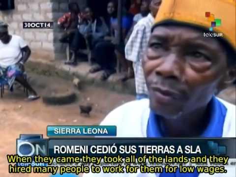 Multinationals grab up land in Sierra Leone