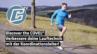 Verbessere deine Lauftechnik mit der Koordinationsleiter!