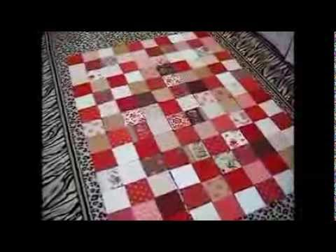 How To Make A Simple Lap Or Baby Quilt Youtube