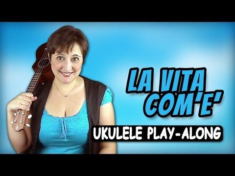 Max Gazzè - La vita com'è Ukulele Play-along