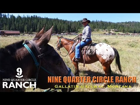 "NINE QUARTER CIRCLE RANCH • As Seen on ""Great Western Guest Ranches"""