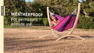 La Siesta Atlántico - Hammock Stand Made Of Fsc-certified Wood
