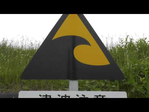 Japan Tsunami Warning Sign