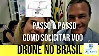 PASSO A PASSO como SOLICITAR voo com DRONE