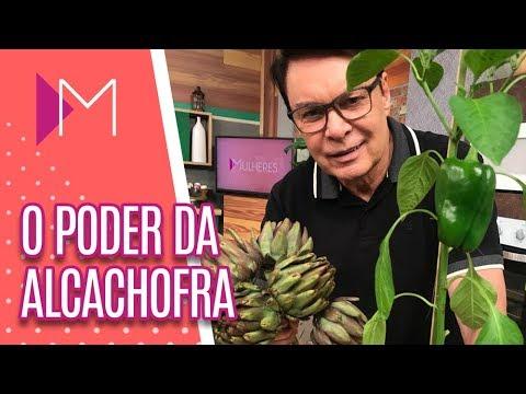Os benefícios da alcachofra - Mulheres (02/11/18)