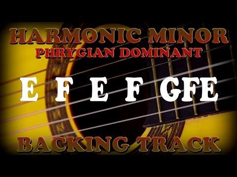 A Harmonic Minor E Phrygian Flamenco Backing Track