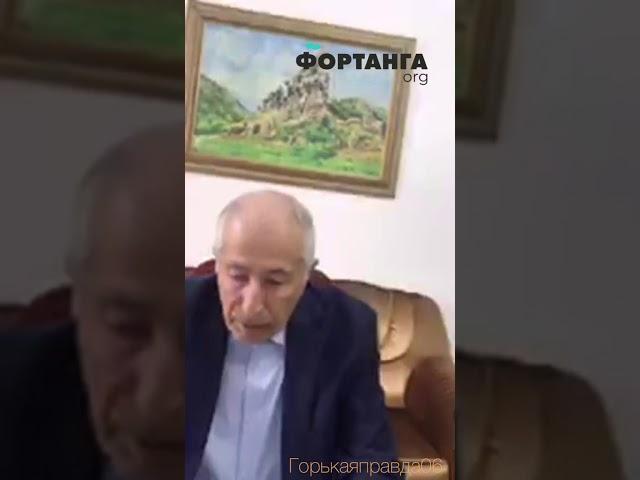 Муса Зурабов об исторической принадлежности спорной территории