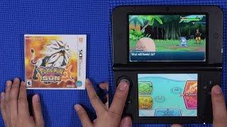 Pokémon Sun Unboxing + Gameplay!