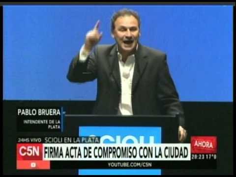 C5N  - Eleccion 2015: Conferencia de Pablo Bruera