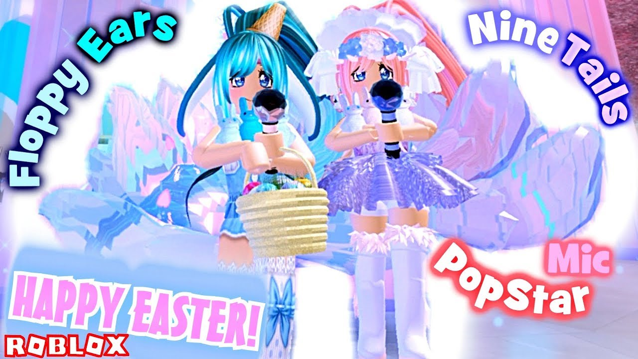 Get Free Nine Tails In Royale High Easter Bunny Floppy Ears