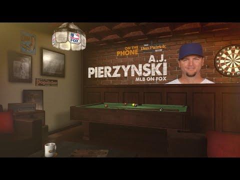 FOX MLB Analyst A.J. Pierzynski on The Dan Patrick Show | Full Interview | 9/13/17