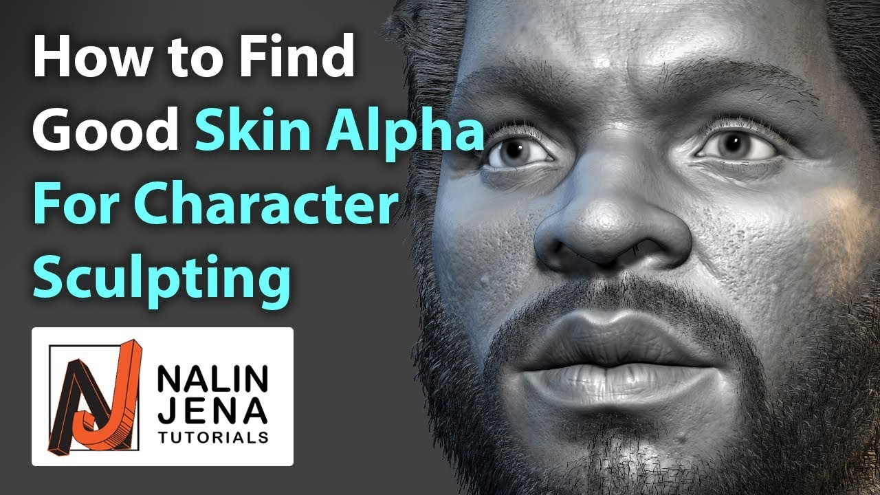 How to Find Skin Alphas and Brushes for Zbrush Character Sculpting