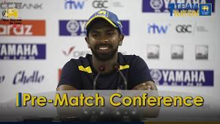 Pre Match Conference, 2 Test at P Sara - New Zealand tour of Sri Lanka 2019
