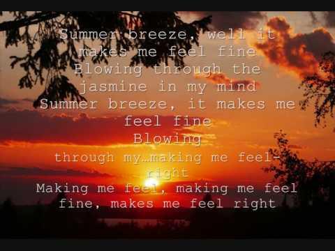 Jason Mraz-Summer Breeze / sing along version / with lyrics