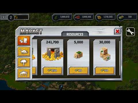 Jurassic Park Builder Unlimited Money Resources And Items HACK MOD APK Android