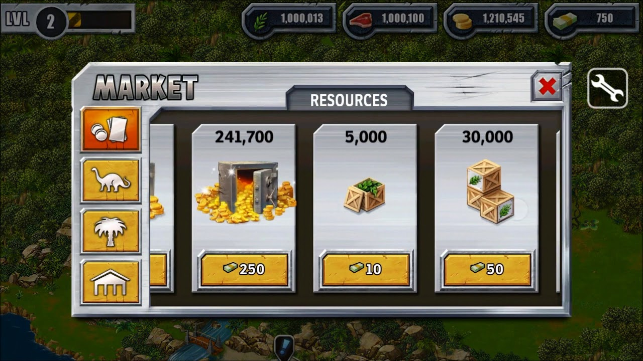 jurassic world the game mod apk android