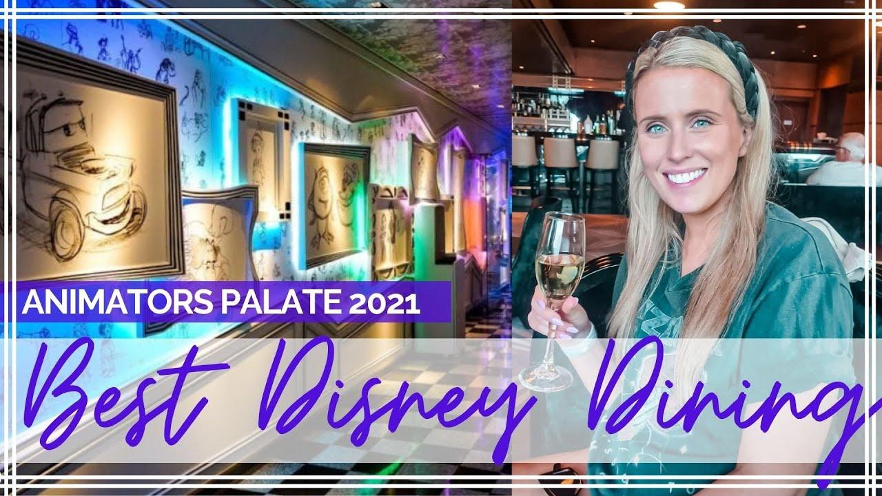 DISNEY MAGIC ANIMATORS PALATE 2021   Final Night On Disney Staycation Cruise