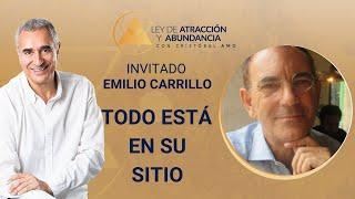 Emilio Carrillo TODO ESTÁ EN SU SITIO