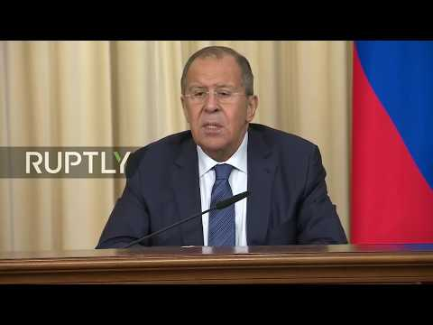 LIVE: Lavrov holds joint press conference with Ethiopian FM Gebeyehu