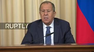LIVE  Lavrov holds joint press conference with Ethiopian FM Gebeyehu
