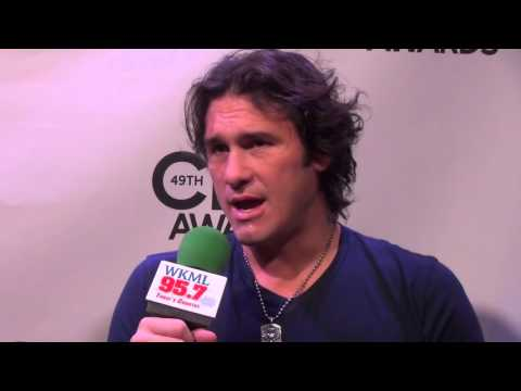 WKML Joe Nichols Interview Live from the 2015 Country Music Awards
