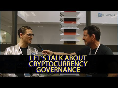 Talking Cryptocurrency Governance with Decred's Joshua Buirski - George Levy