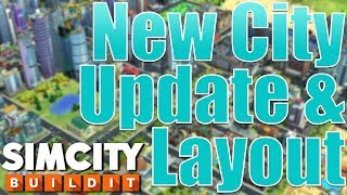 SimCity Buildit | New City Update & Layout